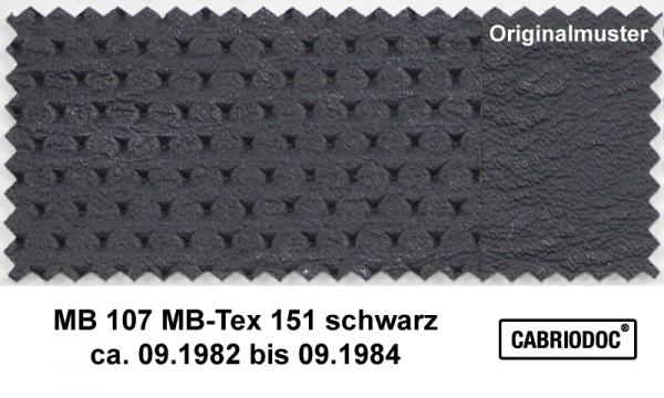 MB-Tex Kunstleder 09.82 bis 09.84 MB 107 SL 123 126