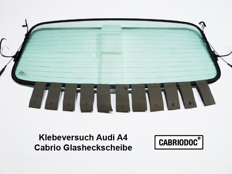 Klebeversuch_Cabrio_Glasheckscheibe