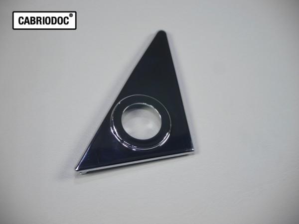 Abdeckplatte Spiegel klein rechts mechanisch MB 107 bis ca. 11.75