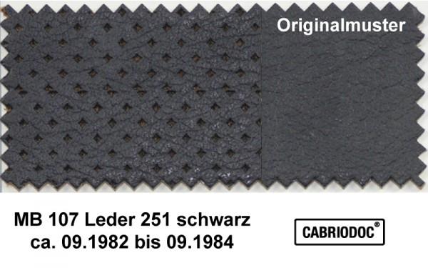 Leder 09.82 bis 09.84 MB 107 SL