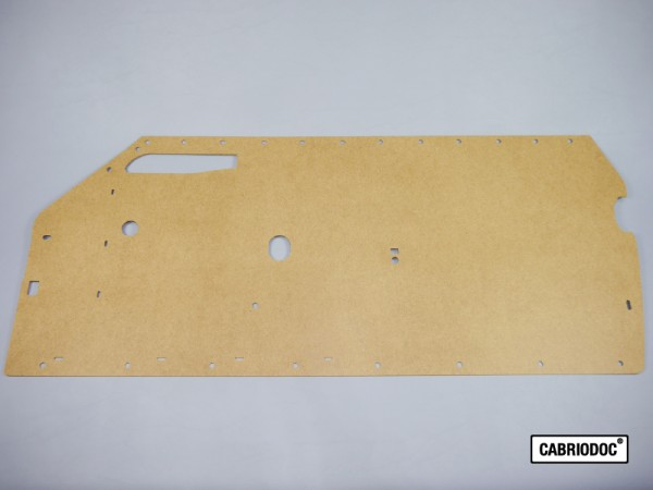 Türtafel Türpappe Rohling für Reparatur Türverkleidung MB 107