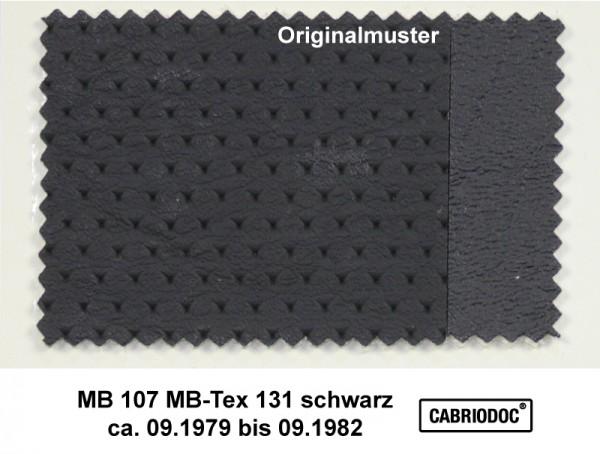 MB-Tex Kunstleder 09.79 bis 09.82 MB 107 123 126