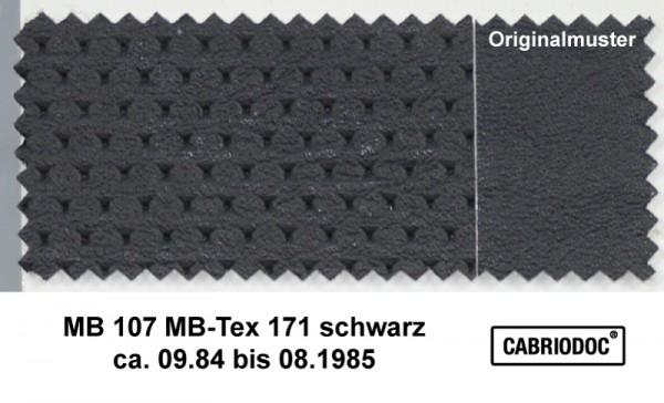 MB-Tex Kunstleder 09.84 bis 08.85 MB 107 SL 124 126 201