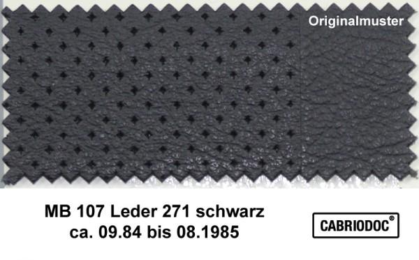 Leder 09.84 bis 08.85 MB 107 SL