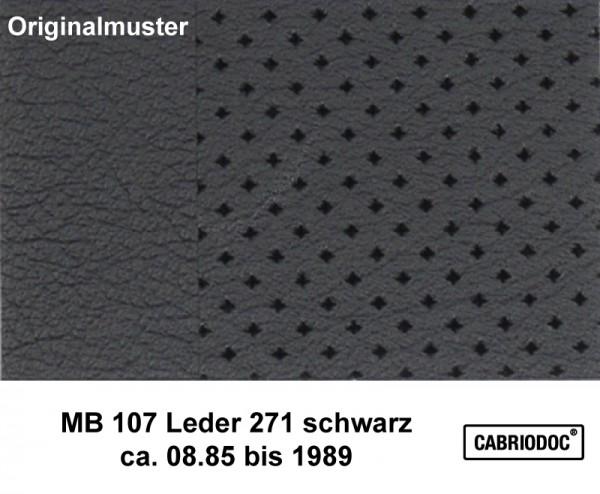 Leder 08.85 bis 1989 MB 107 SL