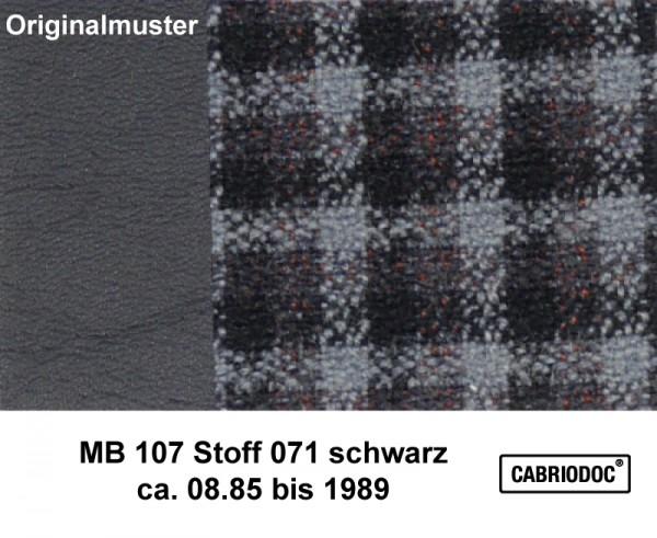 Stoff 08.85 bis 1989 MB 107 SL