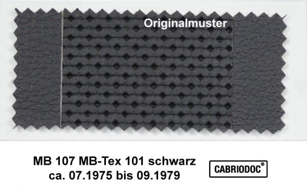 MB-Tex Kunstleder 07.75 bis 09.79 MB 107 123 116