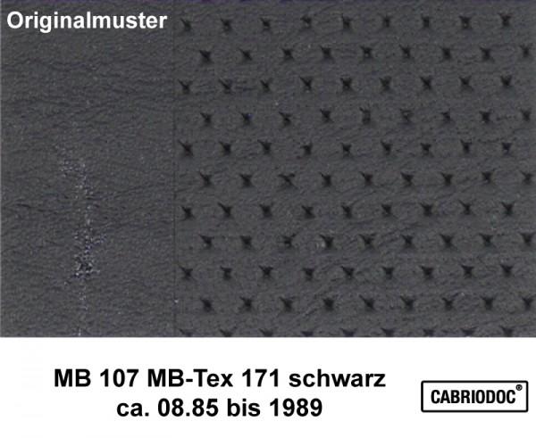 MB-Tex Kunstleder 08.85 bis 1989 MB 107 SL 124 126 201
